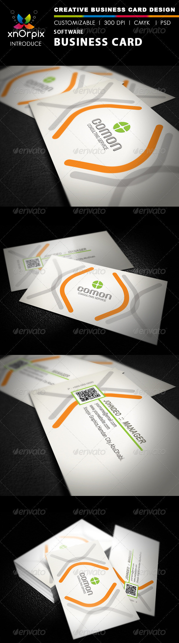 Software Business Card - Business Cards Print Templates