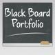Black Board Portfolio Template - ThemeForest Item for Sale