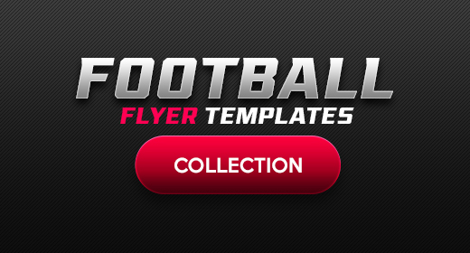 American Football Flyer Template Collection