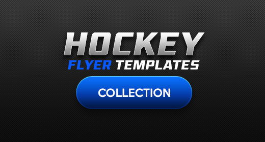 Hockey Flyer Template Collection