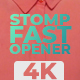 Stomp Fast Opener - VideoHive Item for Sale
