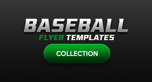 Baseball Flyer Template Collection