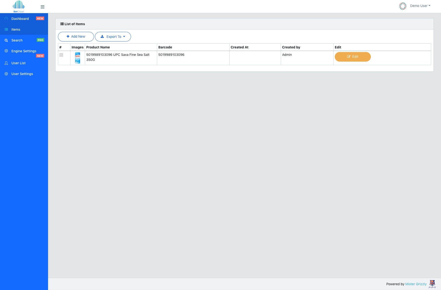 BarCloud - PHP Laravel RESTful Barcode Scanner