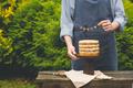 Boy Holding Naked Cake - PhotoDune Item for Sale