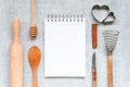 Kitchen Background With Notepad - PhotoDune Item for Sale