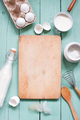 Kitchen Background with Ingredients - PhotoDune Item for Sale