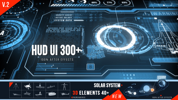 149 HUD Elements Pack for Touch Screen - 4