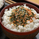 Traditional Japanese bowl with white rice and furikake - PhotoDune Item for Sale