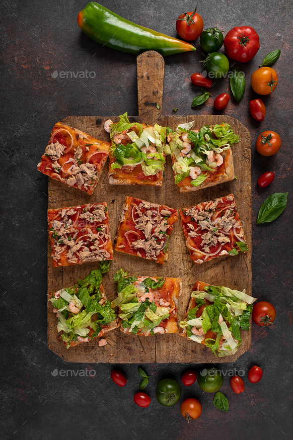 Pizza Slices - Stock Photo - Images