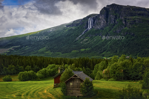 The summer cabin - Stock Photo - Images