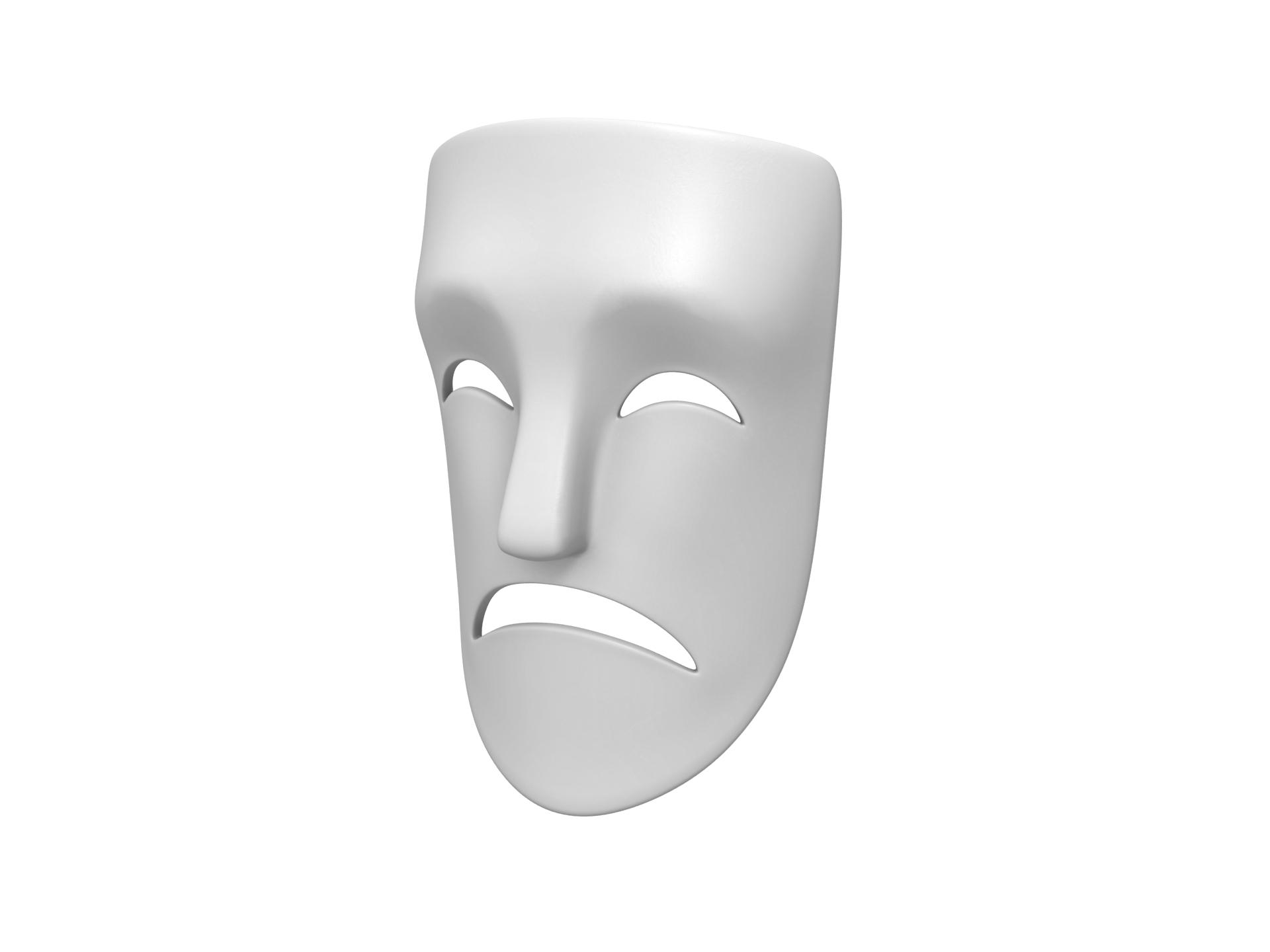 Theater Sad Mask