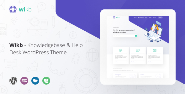 Special Wikb - Knowledgebase & Help Desk WP Theme