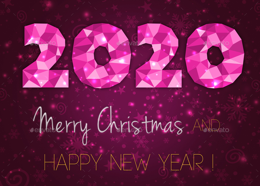 Christmas 2020.Abstract Christmas 2020 Backgrounds