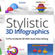 Stylistic 3D Infographics - VideoHive Item for Sale