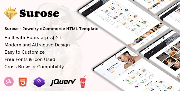 Special Surose - Jewelry eCommerce HTML Template