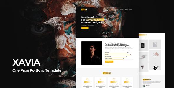 Xavia || Portfolio HTML Template