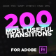 Premiere Transitions - VideoHive Item for Sale