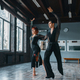 Elegance man and woman on ballrom dance training - PhotoDune Item for Sale
