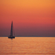 Sail boat over sunset - PhotoDune Item for Sale