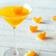 Cocktail glass with orange jelly dessert - PhotoDune Item for Sale