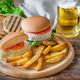 Camembert Hamburgers - PhotoDune Item for Sale