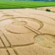 crop circles field Alsace France - PhotoDune Item for Sale