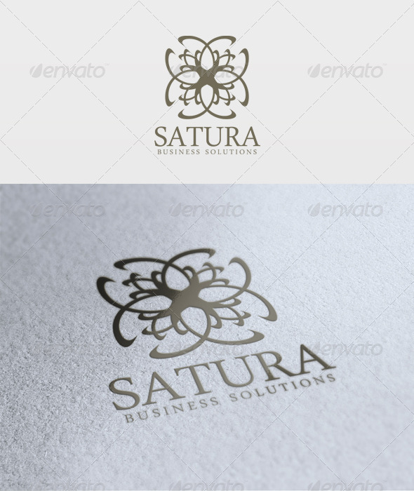 Satura Logo - Vector Abstract
