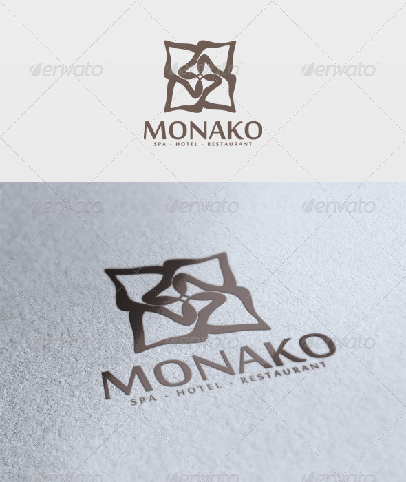 Monako Logo - Vector Abstract