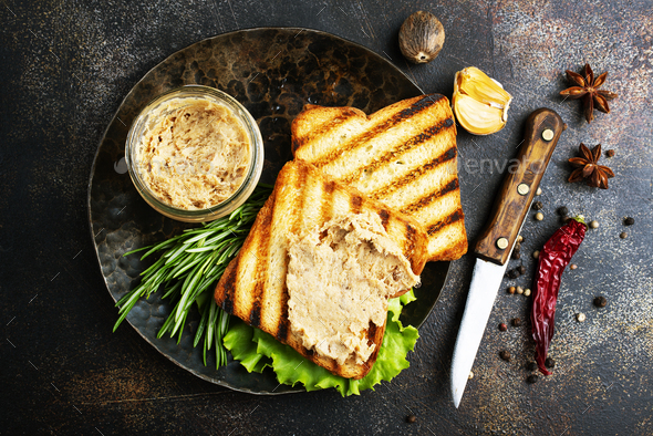 liver pate - Stock Photo - Images