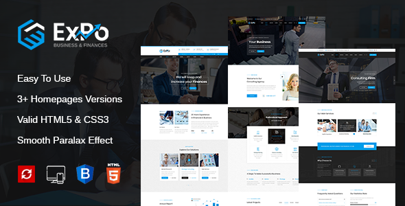 Fabulous Expo - Finance, Business & Consulting HTML Template