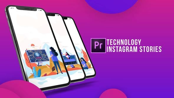 Instagram Stories – Technology (MOGRT)