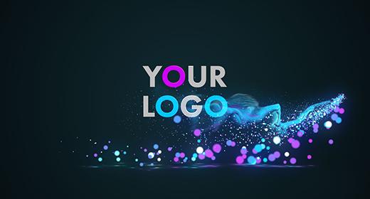 Particles Logo Reveals
