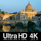 4K Time Lapse of the Sunrise at the Vatican Cathedral - VideoHive Item for Sale