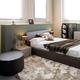 Modern luxury brown monochrome bedroom interior - PhotoDune Item for Sale
