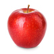 Fresh red apple isolated on white. With clipping path. - PhotoDune Item for Sale