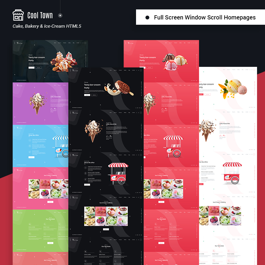 Cool Town | Cakery & Bakery HTML5 Template - 1