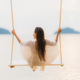 Portrait beautiful young asian woman sitting on the swing around - PhotoDune Item for Sale