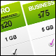 Super Clean Universal Pricing Table - GraphicRiver Item for Sale
