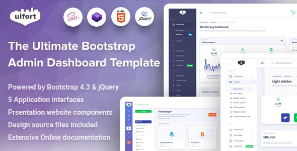 Bamburgh - Bootstrap Admin Dashboard Template