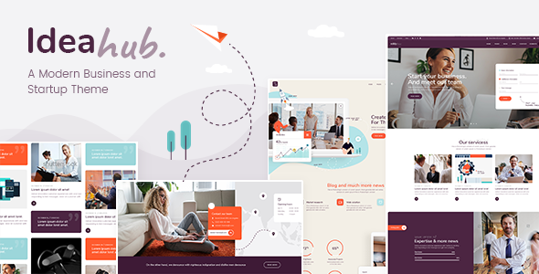 Ideahub - Modern Business and Startup Theme