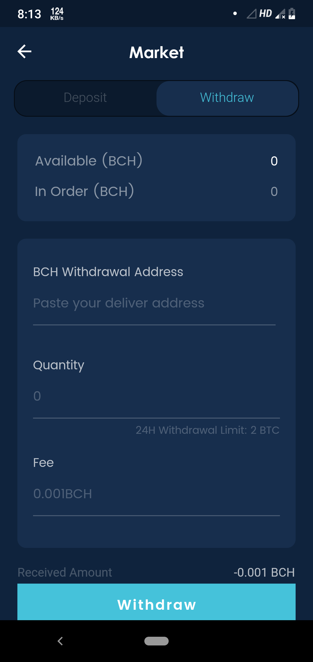 Flutter Crypto and Wallet UI KIT Template