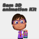 Sam 3D animation Kit - VideoHive Item for Sale