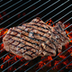 beef steak meat on grill - PhotoDune Item for Sale