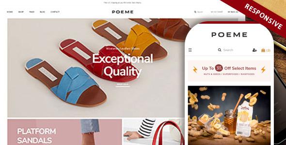 Bos Poeme Dynamic Multipurpose E Commerce Prestashop Theme For Furniture Decoration