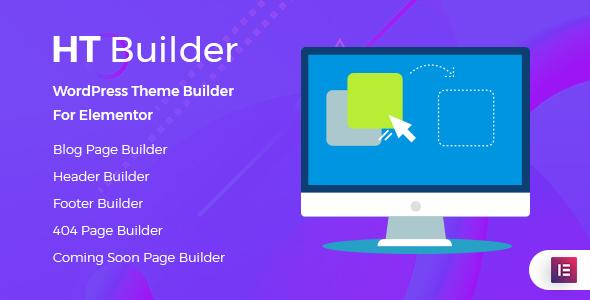 HT Builder Pro  - WordPress Theme Builder for Elementor