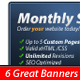 6 Web Banners v2 - GraphicRiver Item for Sale