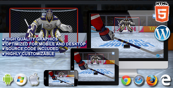 Hockey Shootout Html5 Sport Game
