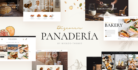Panadería - Bakery and Pastry Shop Theme
