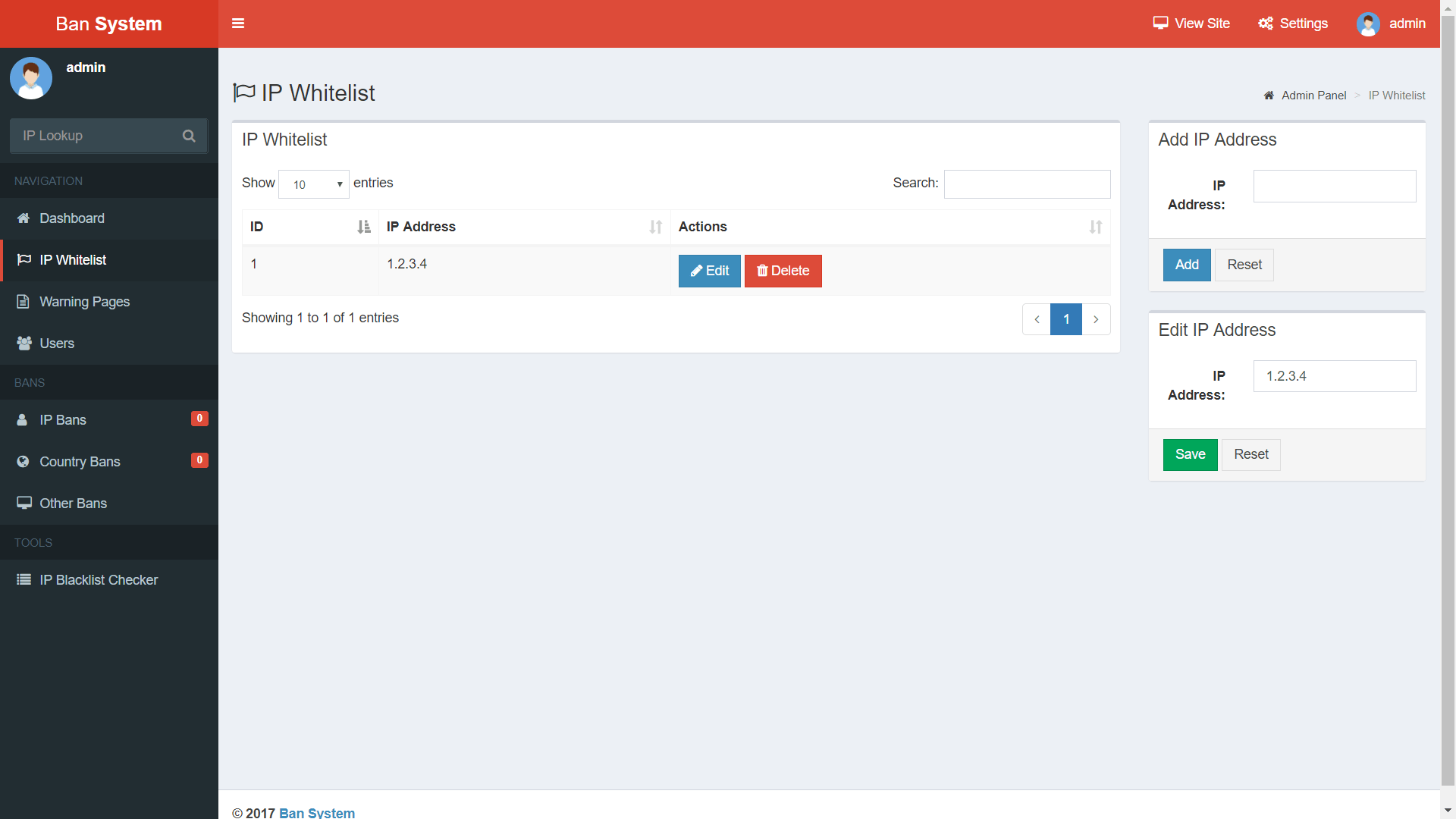 Ban System - Block Unwanted Visitors