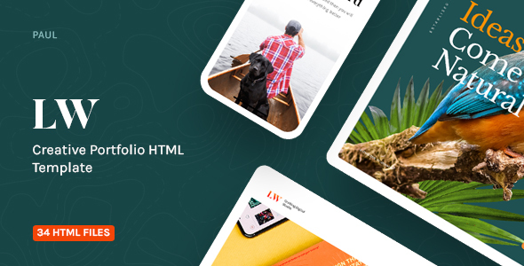 Lewis - Creative Portfolio & Agency HTML Template by paul_tf